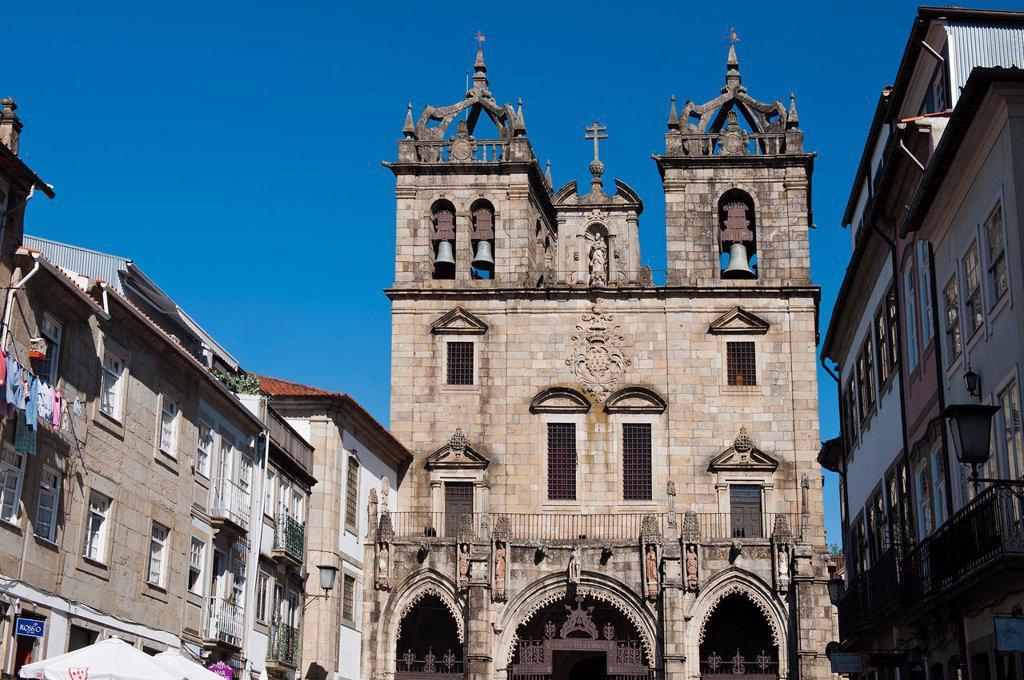 Se Cathedral, Braga, Minho, Portugal : Stock Photo