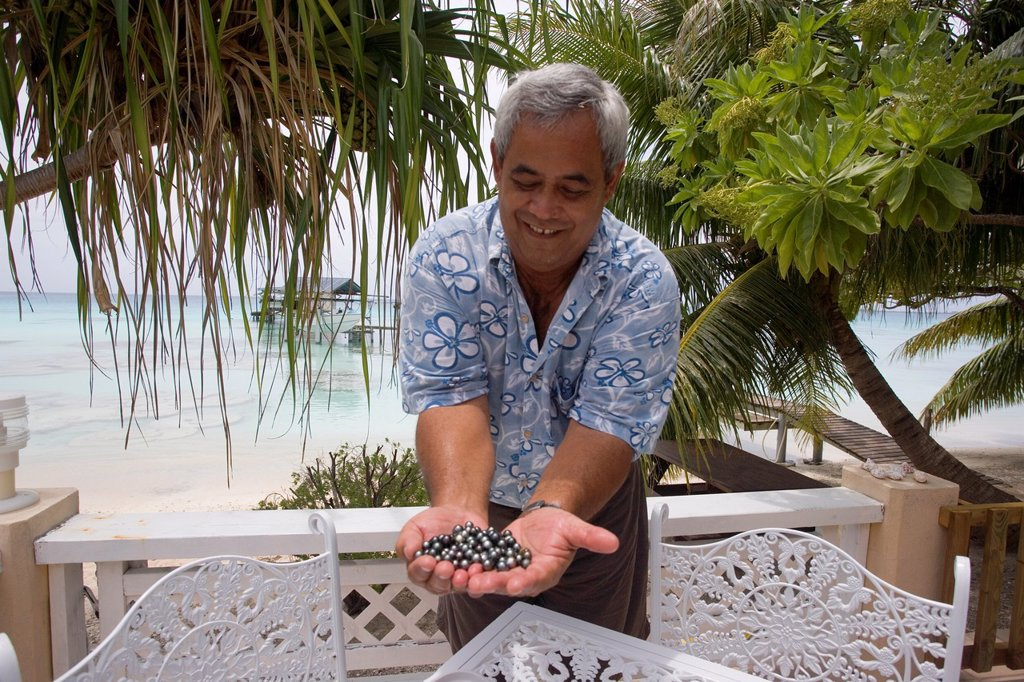Stock Photo: 1566-880182 Fakarava, Tuamotu Islands, French Polynesia