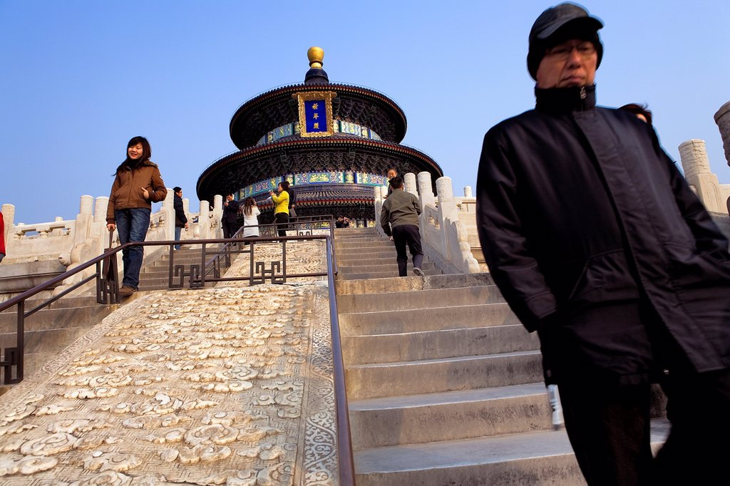 Stock Photo: 1566-880669 Temple of Heaven,Beijing, China