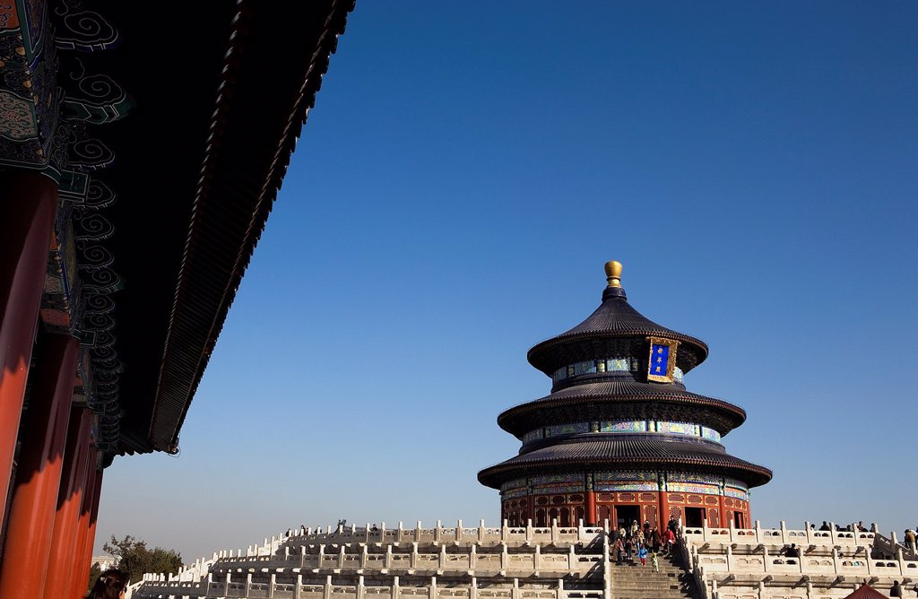 Stock Photo: 1566-880678 Temple of Heaven,Beijing, China