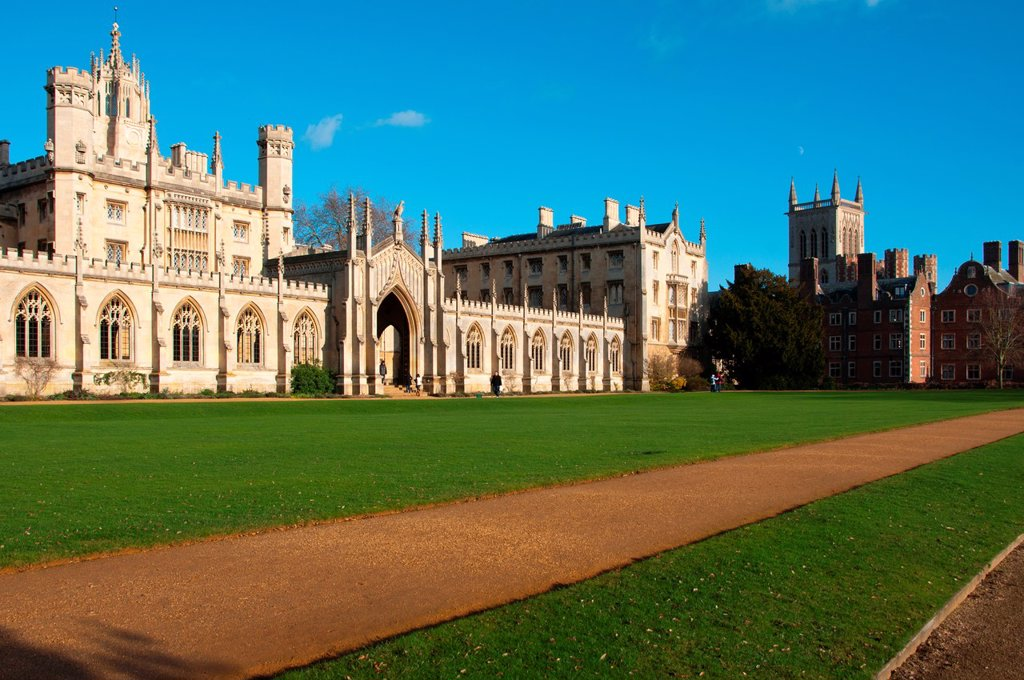 Stock Photo: 1566-882672 Saint Johns College Cambridge England