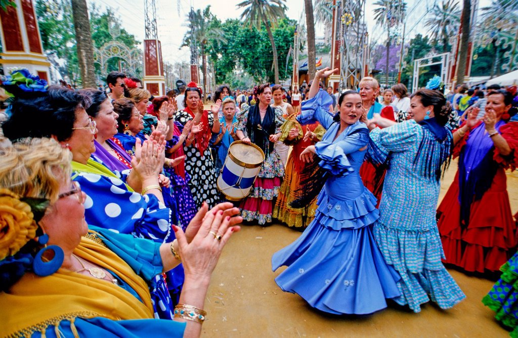 Stock Photo: 1566-886972 Feria at Jerez