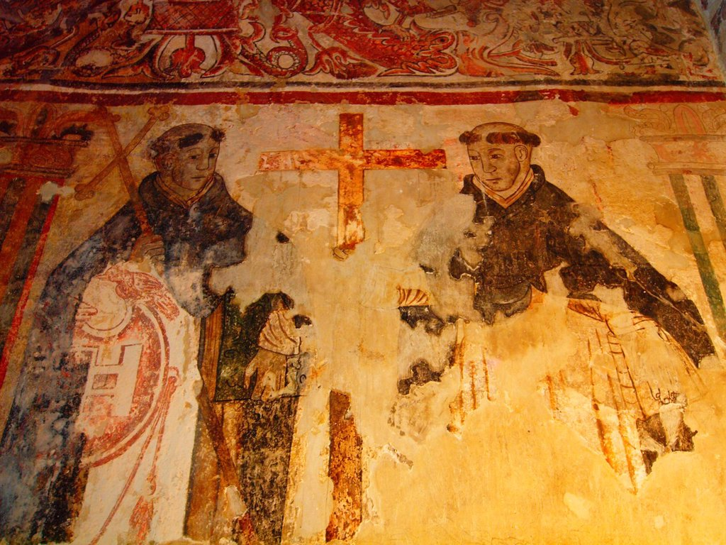 Stock Photo: 1566-887856 Fresco painting. Natividad convent. 1570. Tepoztlan. Mexico.