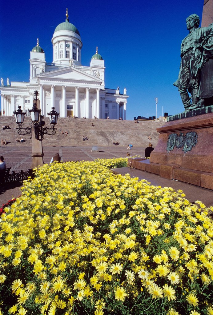 Stock Photo: 1566-888054 Helsinki, Finland  Helsinki Cathedral is an Evangelical Lutheran cathedral of the Diocese of Helsinki, located in the centre of Helsinki, Finland  The church was originally built as a tribute to the Grand Duke, Nicholas I, the Tsar of Russia and until the. Helsinki, Finland  Helsinki Cathedral is an Evangelical Lutheran cathedral of the Diocese of Helsinki, located in the centre of Helsinki, Finland  The church was originally built as a tribute to the Grand Duke, Nicholas I, the Tsar of Russia a