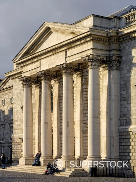 Stock Photo: 1566-891210 Trinity College Chapel Dublin