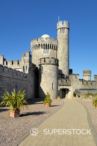 Stock Photo: 1566-891227 Blackrock castle observatory
