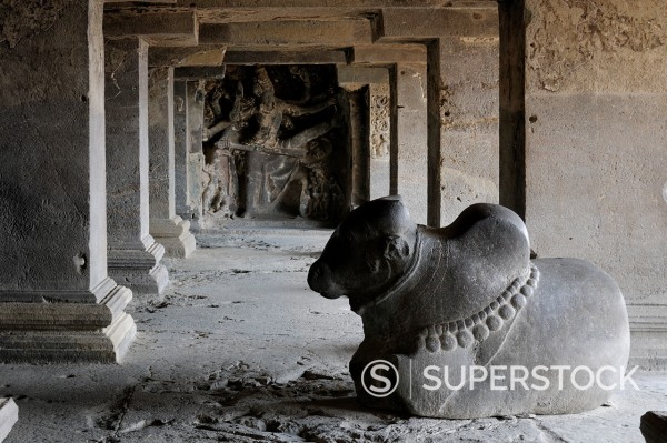 Stock Photo: 1566-891248 Ellora Cave No 15