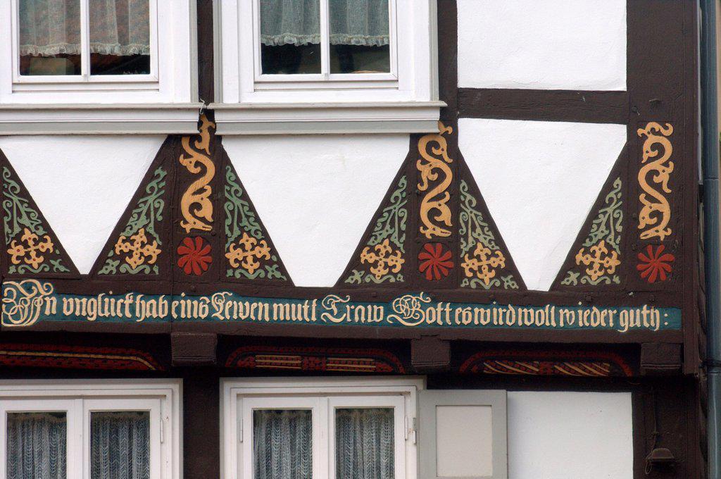 Hornburg, Germany : Stock Photo