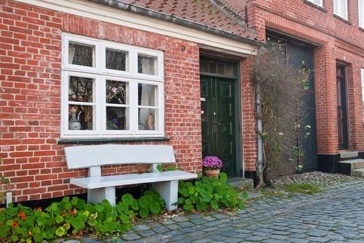 Old Town of Ribe, Jutland, Denmark : Stock Photo