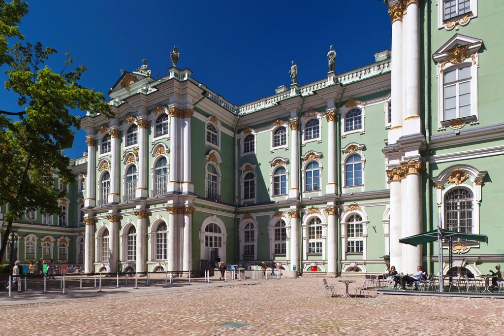 Stock Photo: 1566-894570 Russia, Saint Petersburg, Center, Winter Palace, Hermitage Museum, exterior