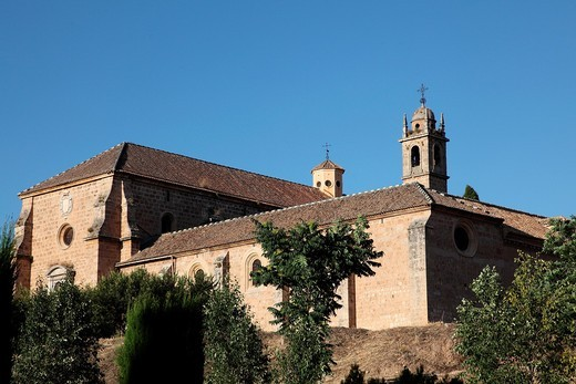 Stock Photo: 1566-896670 Exterior of the Convent of San Jeronimo in Granada, Andalusia, Spain, Europe
