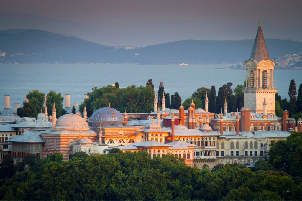Stock Photo: 1566-896868 Topkapi Palace  Istanbul, Turkey