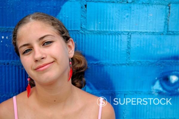 Stock Photo: 1566-897044 Cute Spanish Teenager