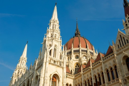 Parliament  Budapest, Hungary : Stock Photo