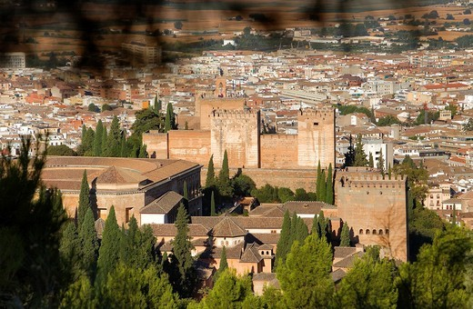 Stock Photo: 1566-900550 Alhambra,Granada, Andalusia, Spain