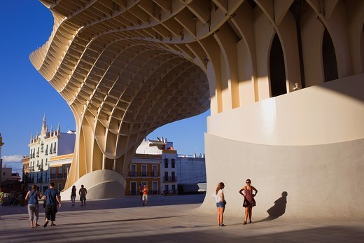 Stock Photo: 1566-900887 Metropol Parasol,in Plaza de la Encarnación,Sevilla,Andalucía,Spain