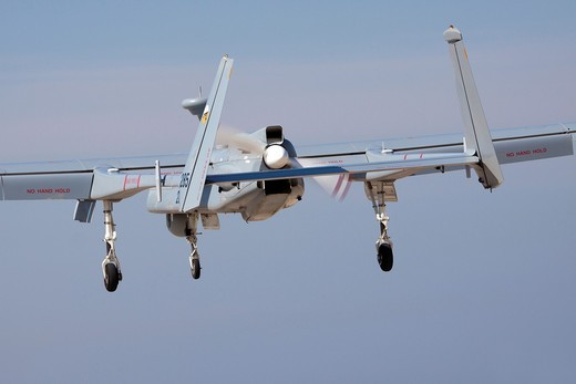 Stock Photo: 1566-903707 Israeli Air force IAF IAI Heron IAI Shoval an Unmanned Aerial Vehicle UAV developed by the Malat division of Israel Aerospace Industries