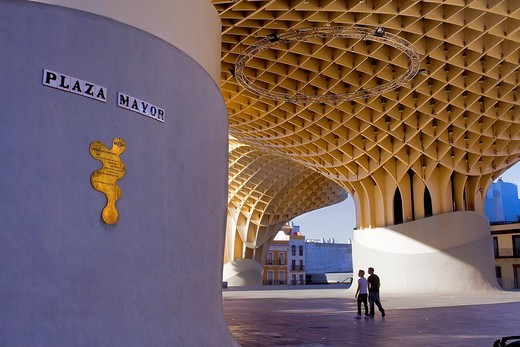 Stock Photo: 1566-903711 Metropol Parasol,in Plaza de la Encarnación,Sevilla,Andalucía,Spain