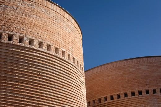 Stock Photo: 1566-904533 Israel, Tel Aviv, Tel Aviv University, Cymbalista Synagogue, architect, Mario Botta