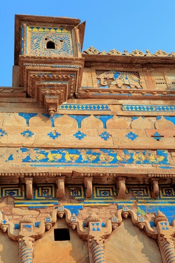 Fort, Man Mandir palace 1500, Gwalior, India : Stock Photo