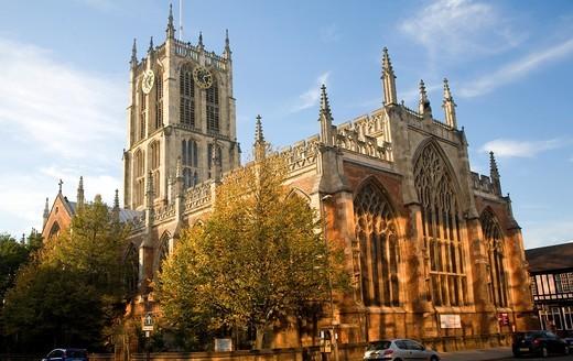 Stock Photo: 1566-906372 Holy Trinity church, Hull, Yorkshire, England