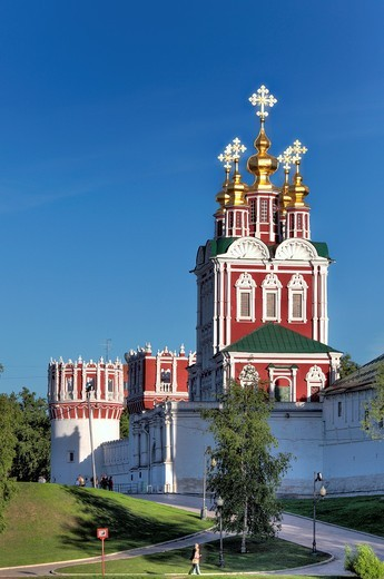 Novodevichy Convent, Moscow, Russia : Stock Photo