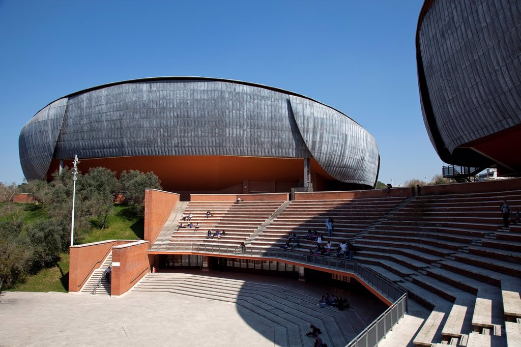 Stock Photo: 1566-907211 Concert hall at Music parc, Rome, Lazio, Italy, Europe