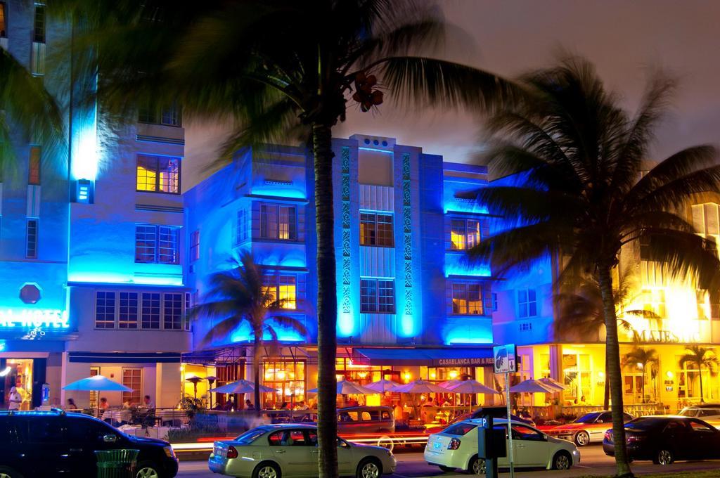 Stock Photo: 1566-907228 park central Hotel, south beach Miami, Florida, USA