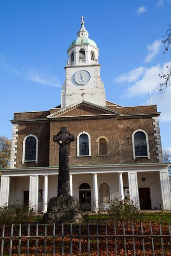 Stock Photo: 1566-907515 Holy Trinity Church in Clapham Common