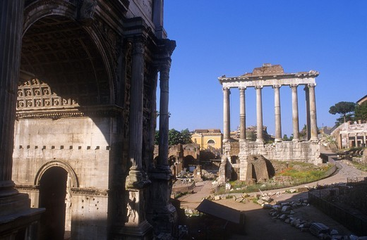 Roman Forum,Rome, Italy : Stock Photo