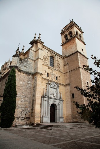 Stock Photo: 1566-908315 Convento de San Jeronimo in Granada, Andalusia, Spain, Europe