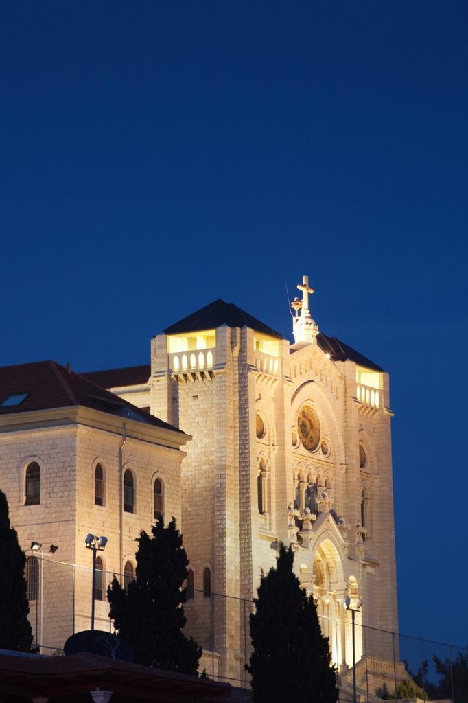 Stock Photo: 1566-908398 Israel, The Galilee, Nazareth, Silesian Church of Jesus the Adolescent