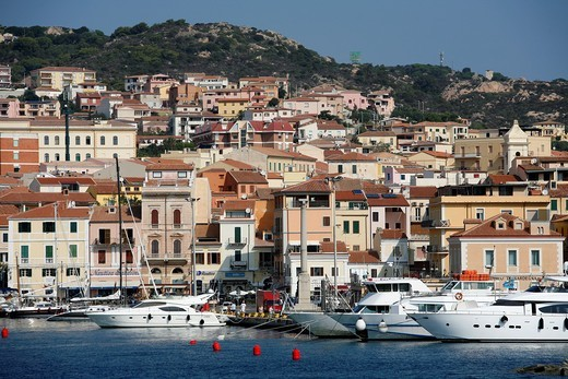 Stock Photo: 1566-910145 View over La Maddalena, Sardinia, Italy