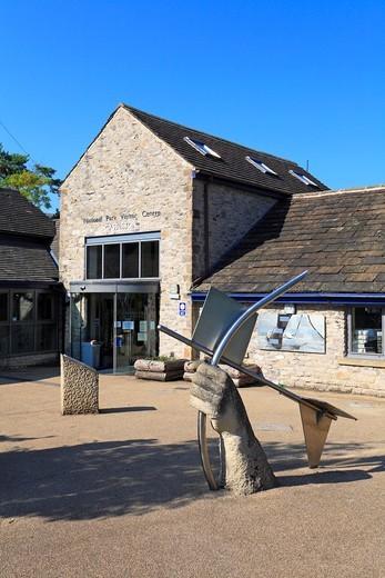 Stock Photo: 1566-910273 National Park Visitor Centre, Castleton, Peak District National Park, Derbyshire, England, UK