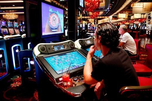 Stock Photo: 1566-913315 Las vegas , nevada , casino USA