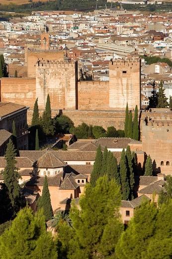 Alhambra,Granada, Andalusia, Spain : Stock Photo