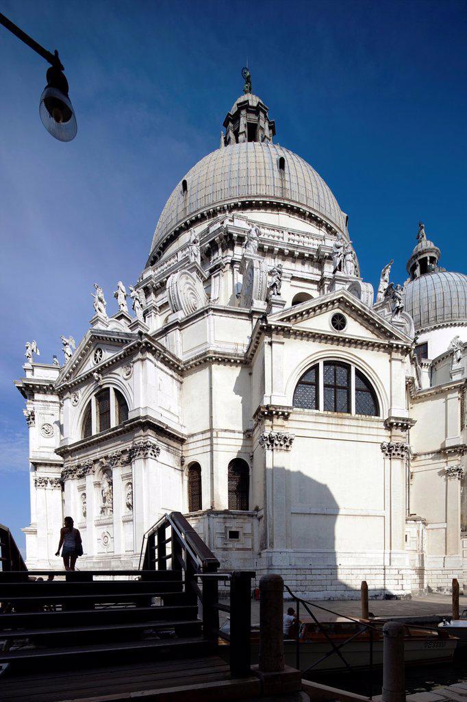 La Salute Basilica, Venice, Italy : Stock Photo
