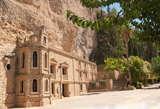 Santuario de la Virgen de la Esperanza, Calasparra the Province of Murcia in Spain, Europe : Stock Photo