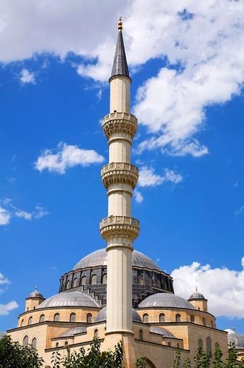 The Azadi mosque, Ashgabat, Turkmenistan : Stock Photo