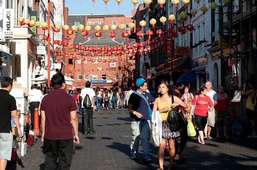 Stock Photo: 1566-917647 Chinatown, Soho, London, United Kingdom