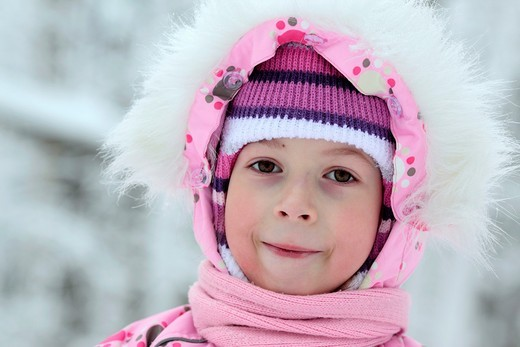 Stock Photo: 1566-918504 Girl in pink, Russia