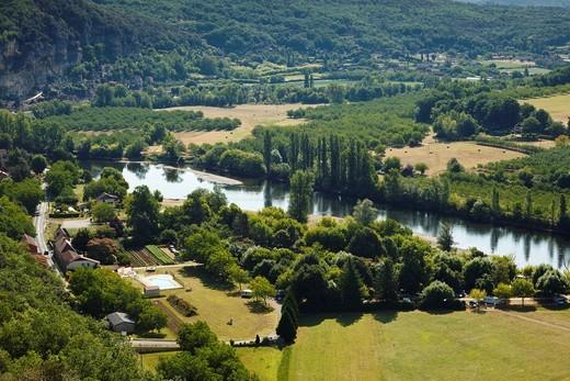 Stock Photo: 1566-919152 Dordogne river valley, France, Europe