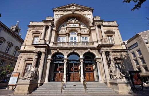 France, Avignon, Theatre : Stock Photo
