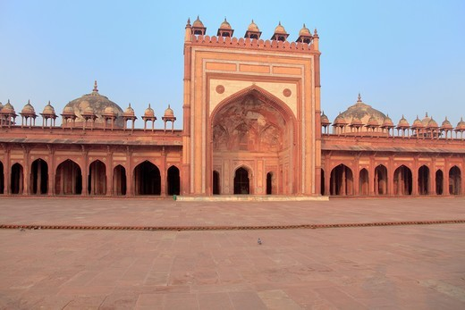 Stock Photo: 1566-921623 UNESCO World Heritage site, Fatehpur Sikri, India