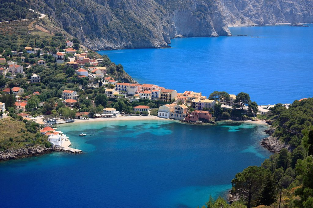 Stock Photo: 1566-921716 Assos, Kefalonia, Greece