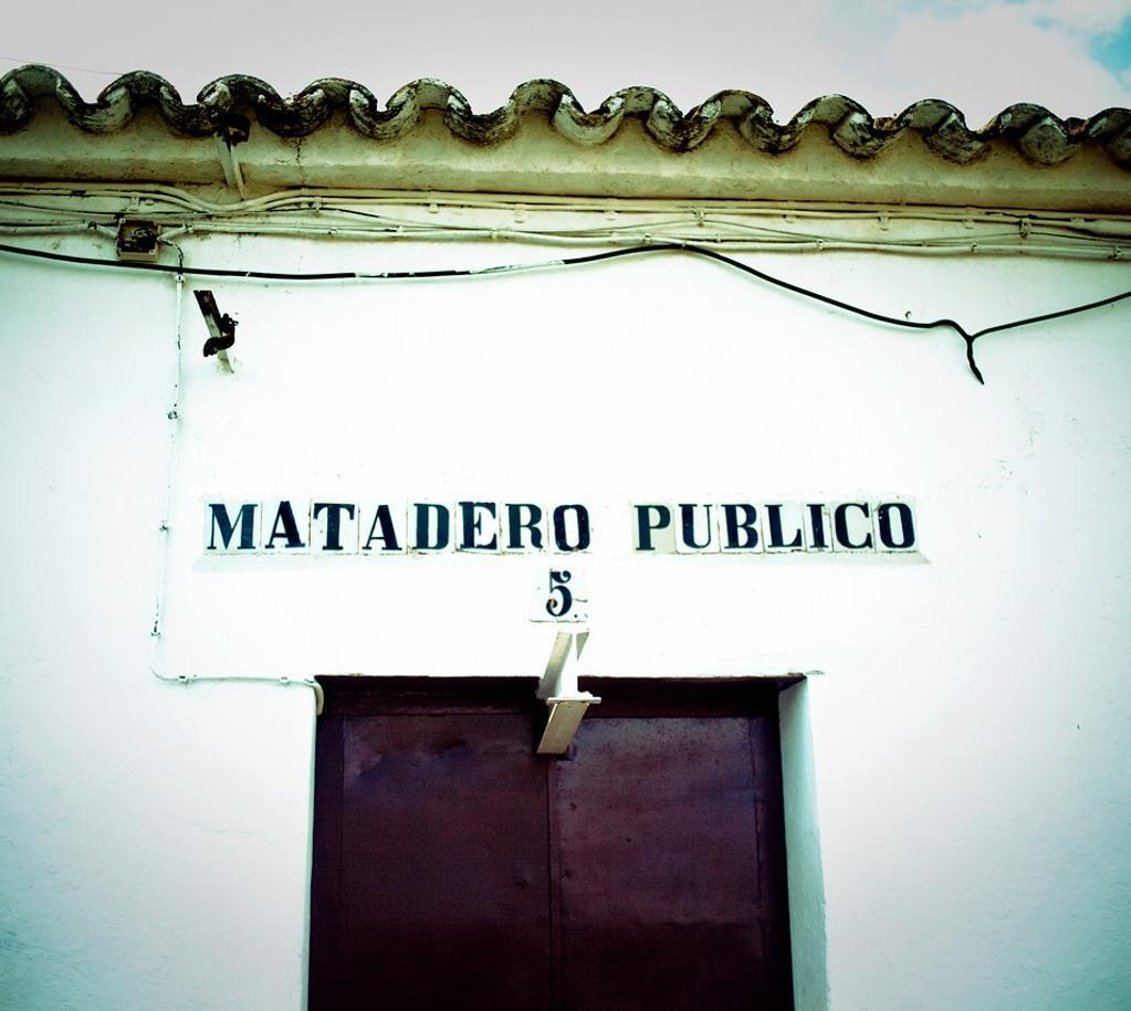 Stock Photo: 1566-925268 ´Matadero Público´ Zufre, Sierra de Aracena y Pico de Aroche, Huelva, Spain