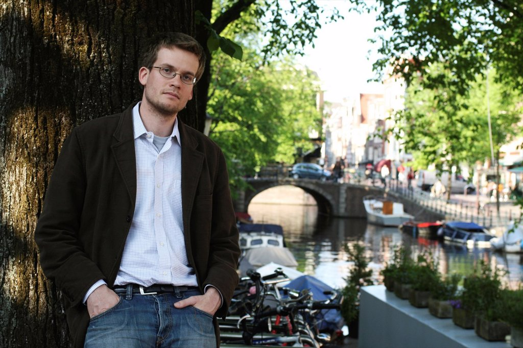 Stock Photo: 1566-927162 John Green, writerJohn Green, writer