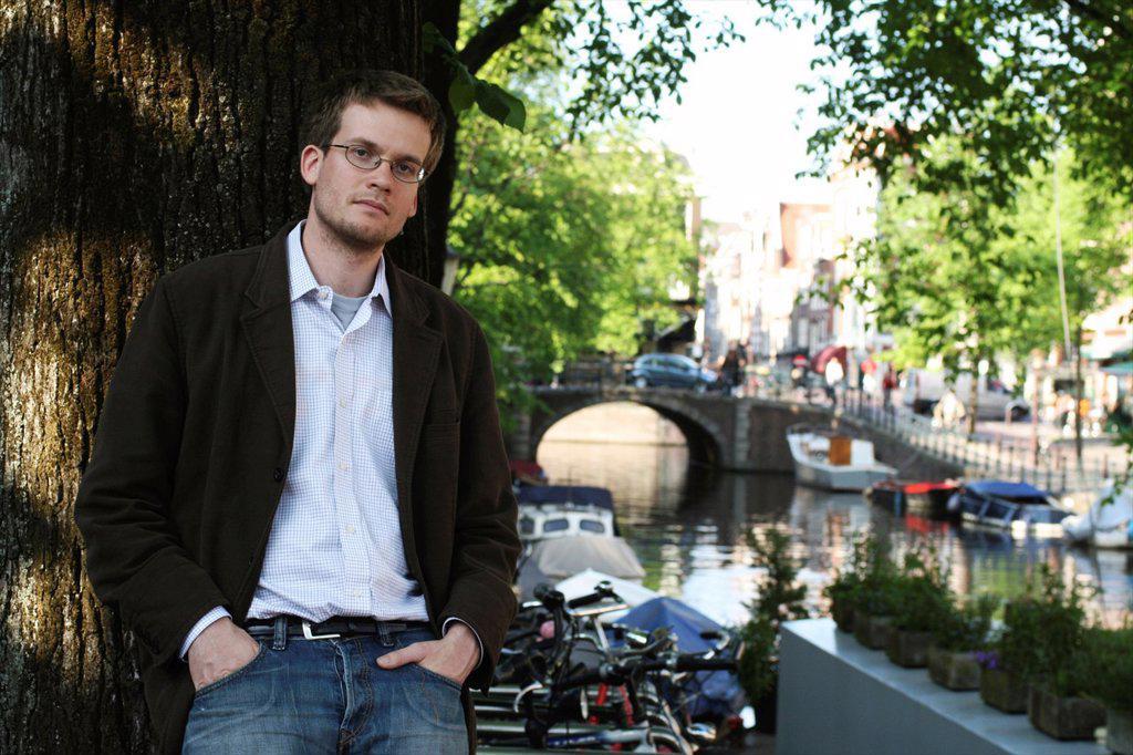 John Green, writerJohn Green, writer : Stock Photo