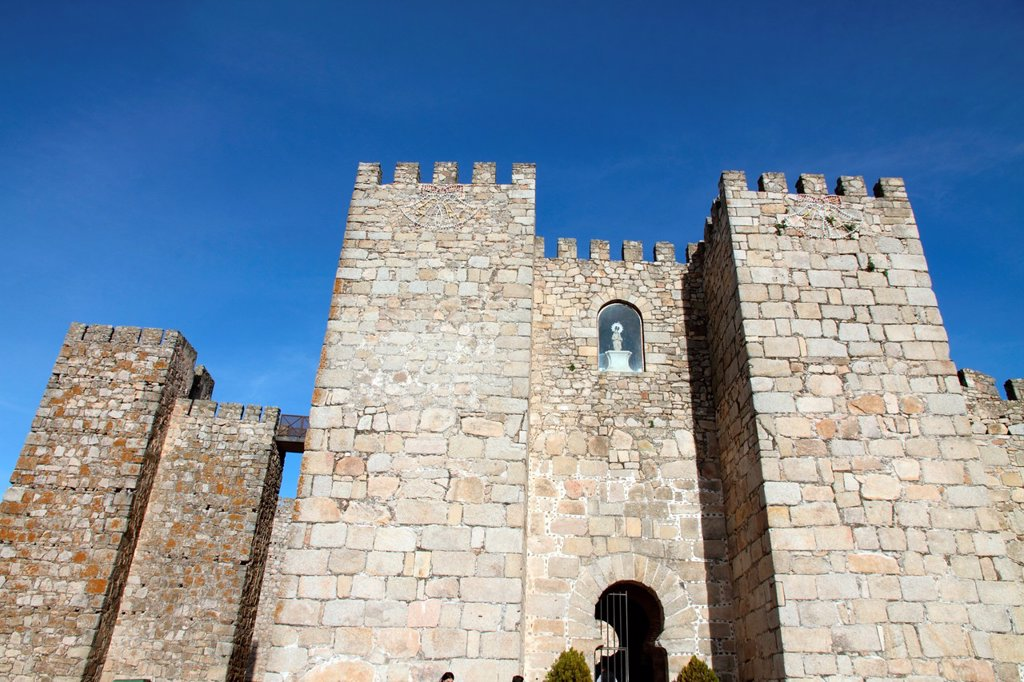 Stock Photo: 1566-928333 Castle in Trujillo, Caceres province, Extremadura, Spain