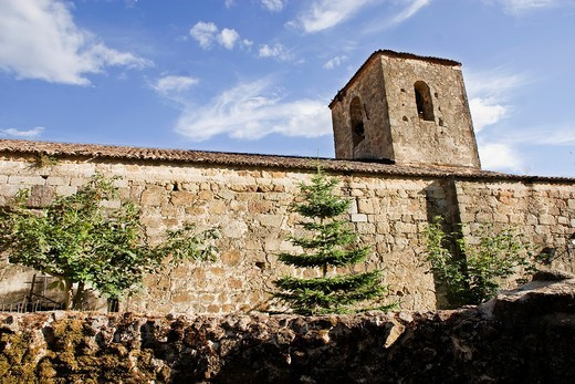 Stock Photo: 1566-930327 Church of Santa María de Fuentes Claras, Valverde de la Vera  Cáceres province, Extremadura